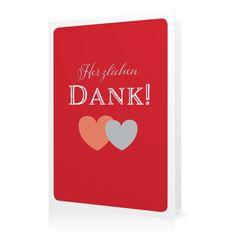 Dankeskarte Amors Pfeil in Kirsche - Klappkarte hoch #Hochzeit #Hochzeitskarten #Danksagung #Foto #kreativ #modern https://www.goldbek.de/hochzeit/hochzeitskarten/danksagung/dankeskarte-amors-pfeil?color=kirsche&design=78ea2&utm_campaign=autoproducts