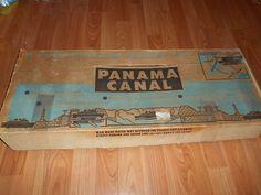 1950s Renwal Panama Canal Toy in Original Box Vintage #Renwal