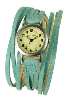 Women's Gaucho Turquoise Watch by Tokyobay Inc. on @HauteLook