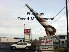 This rocket was in the Cross Keys area of Doylestown, PA for many, many years!  What ever happened to it?  Photo by Carol Jacobs Norwood.
