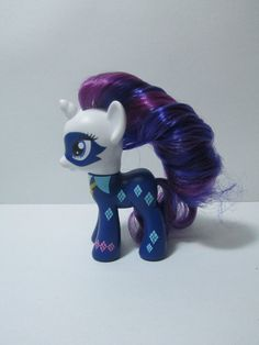 MLP Power Ponies Radiance Rarity Brushable