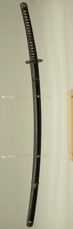 Japanese sword - Katana (Long Sword), 16th century capaniise palayı döver