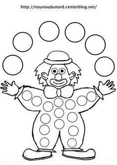 Coloring harlequin clown juggler drawn by nounoudunord Circus Crafts, Carnival Crafts, Dot Painting, Painting For Kids, Art For Kids, Coloring For Kids, Coloring Pages, Theme Carnaval, Clown Party