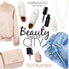 bomber jacket by raniaghifaraa on Polyvore featuring Cameo Rose, MANGO, Jimmy Choo, Givenchy, Jennifer Zeuner, New Look, Bobbi Brown Cosmetics and Chanel