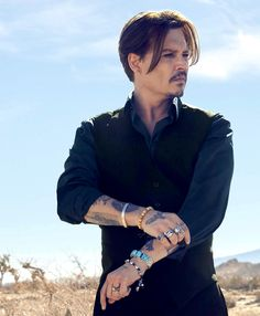 Johnny Depp voor Sauvage Dior
