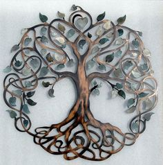 Shades of gray metal tree - Google Search