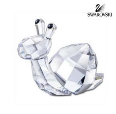 "Swarovski Crystal Figurine LovLots SHINA SNAIL #839826 Size: 1.5"" x 1.75"" In perfect condition NO BOX"