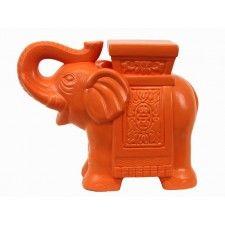 Bridled Elephant Statue, Nectarine