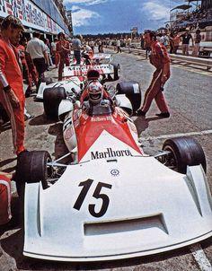 Clay Regazzoni - Marlboro BRM P160D - South Africa G.P. - Kyalami - 1973