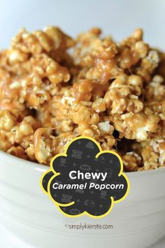 The Best Chewy Caramel Popcorn recipe is an ooey, gooey spin on caramel corn. This yummy comfort food is perfect to serve to family and to friends!