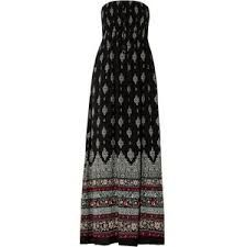 black and whiteprint dress - Google-haku