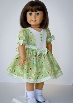 1940s Floral and Gingham by AnnasGirls on Etsy, $45.00