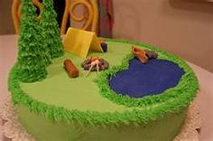 Cub Scout cake idea