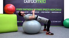 Rehabilitacja ruchowa z pomocą piłki MSD.