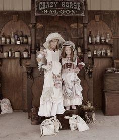 Cute prairie girls... photo taken in Brenham, Texas by Miss Purdy's Old Time Photos...