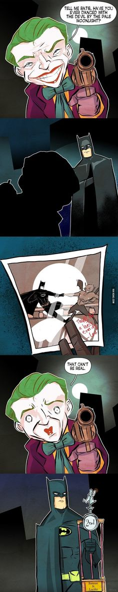 Has Batman Ever Danced With The Devil In The Pale Moonlight?