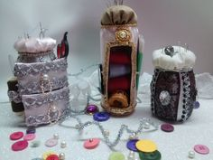 Como hacer costurero con latas / Sewing box out of soda cans