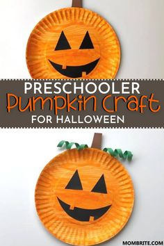 Fall Arts And Crafts, Halloween Arts And Crafts, Halloween Crafts For Toddlers, Easy Fall Crafts, Fall Crafts For Kids, Halloween Kids, Toddler Crafts, Infant Halloween, Kids Crafts