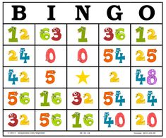 Bingo de Multiplicaciones Multiplication Games, Math Games, Math Exercises, Preschool Family, Math School, Fun Math, Maths, Educational Games, Learning Spanish