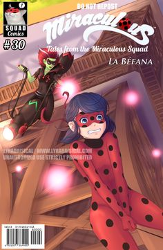 Squad Miraculous: Comic Cover Collab ~La Befana Here's my cover for Befana! Follow #SquadMiraculousCovers for more covers from other artists and #SquadMiraculousCollab for our other projects! Reblog, don't repost.