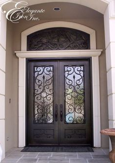 Double Front Doors For Homes Exterior Doors Photo Gallery