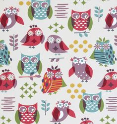 Is this not the cutest fabric for a 7 year old girl's room ever? Sounds like Miss M agrees, so this is what will go on her window.