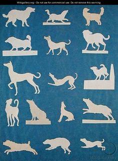 Study of Dogs - Philipp Otto Runge