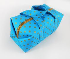 neat little boxy pouch pattern - $5.00 only