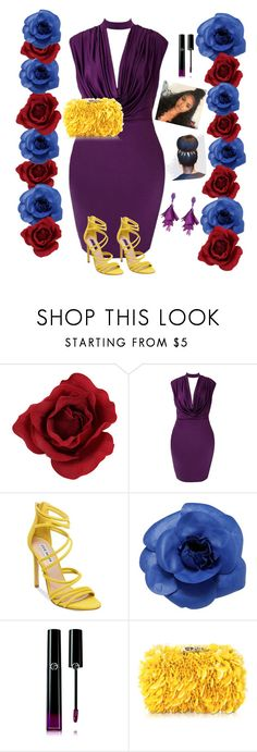 """Dare to wear"" by vintage-selina ❤ liked on Polyvore featuring Steve Madden, Chanel, Giorgio Armani, Corto Moltedo and Oscar de la Renta"
