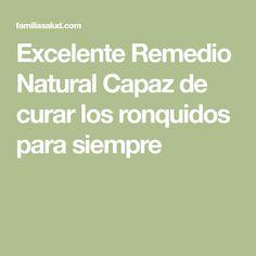Excelente Remedio Natural Capaz de curar los ronquidos para siempre
