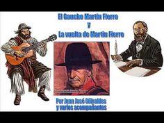 El Martin Fierro recitado completo - Increible libros en Lunfardo Argentina por Jose Hernandez recitado por Juan Jose Guiraldes.