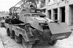 Germany's Panzerspähwagen (6-Rad) SdKfz 231 armored car