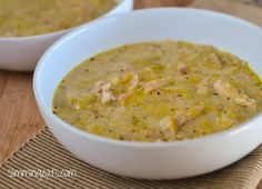 Chicken and Leek Soup - Slimming World, Weight Watchers, Whole30, Paleo friendly, Gluten and Dairy Free
