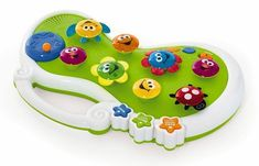 A wonderful first musical instrument! Beautiful, bright flowers create lovely music when pushed and turned. Even parents will find this garden especially sweet. Baby Sensory, Sensory Toys, Special Needs Toys, Musical Toys, Bright Flowers, Christmas Time, Piano, Musicals