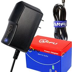 ANFU 65ft DC 6V Power Supply for Omron Healthcare Blood Pressure Monitor 5 7 10 Series BP785N BP786N BP791IT BP760N BP761 BP742N BP710N BP629 Wall Charger Power Supply Cord Plug AC Adapter with light * Details can be found by clicking on the image.