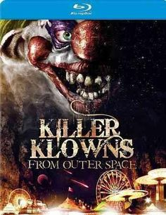 A kampy, kult favorite! After a meteor plunges to Earth, young lovers Mike and Debbie discover a circus tent-spacecraft piloted by grinning, red-nosed aliens. The klown passengers are not happy makers