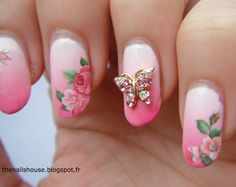jewel nail art