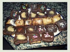 Torrijas vainilla y chocolate