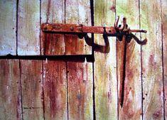 David Poxon   Big Barn Door