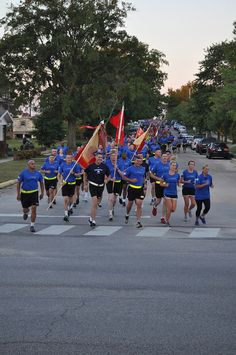 I can't wait to represent the Wear Blue team at the Soldier Marathon in November. Ready for a great run through Fort Benning!