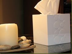 DIY tissue box tutorial.