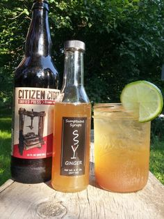 Citizen Stormy - Dunc's Mill Aged Rum, Citizen Cider, Lime Juice and Sumptuous Ginger Syrup