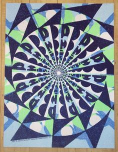 2016 Phish - Hartford Silkscreen Concert Poster by Nate Duval