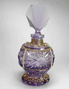 A beautiful perfume bottle! I collect perfume bottles and would love to add more!