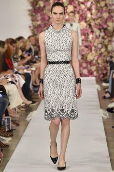 Oscar de la Renta printemps-été 2015  #mode #fashion