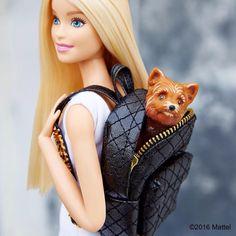 Barbie's got a doggie!!