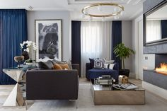Honky's successful show apartment and marketing suite at this sought after Central London development attracted lots of attention. These two apartments were privately purchased and – to the clients' brief – Honkydesignedtwo individual schemes which had the essence of the original show apartment, and yet had subtle differences reflectingbothmasculine and feminine styles.