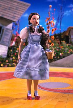 The Wizard of Oz Dorothy with Toto porcelain doll