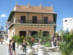 Plaza del Gallo en el corazon de Camaguey.