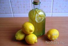 Aromás citromszörp